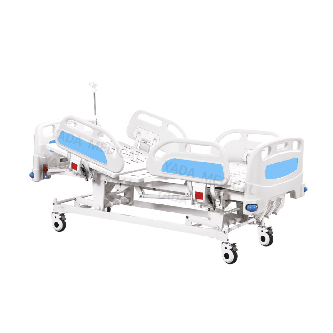 Three Crank Manual Care Bed
