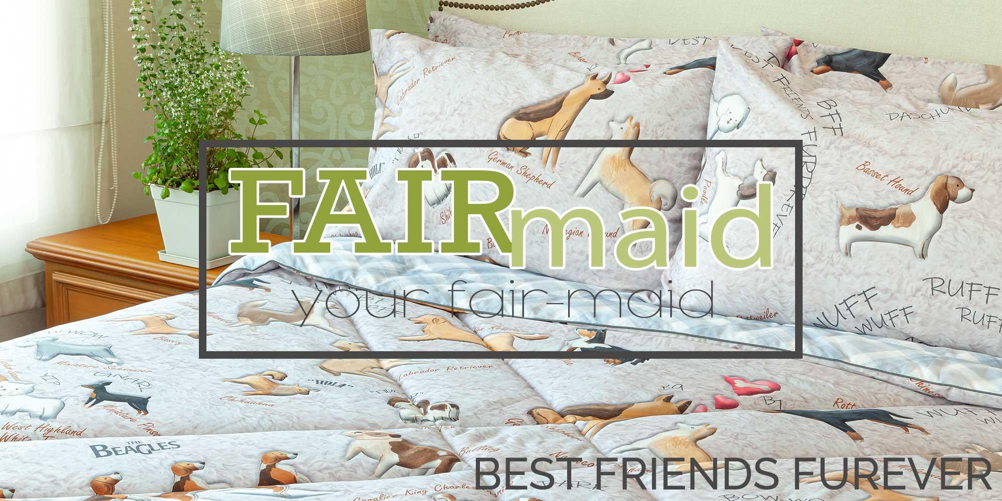 ชุดเครื่องนอน ผ้าปูที่นอน ปลอกผ้านวม และปลอกหมอน fairmaid