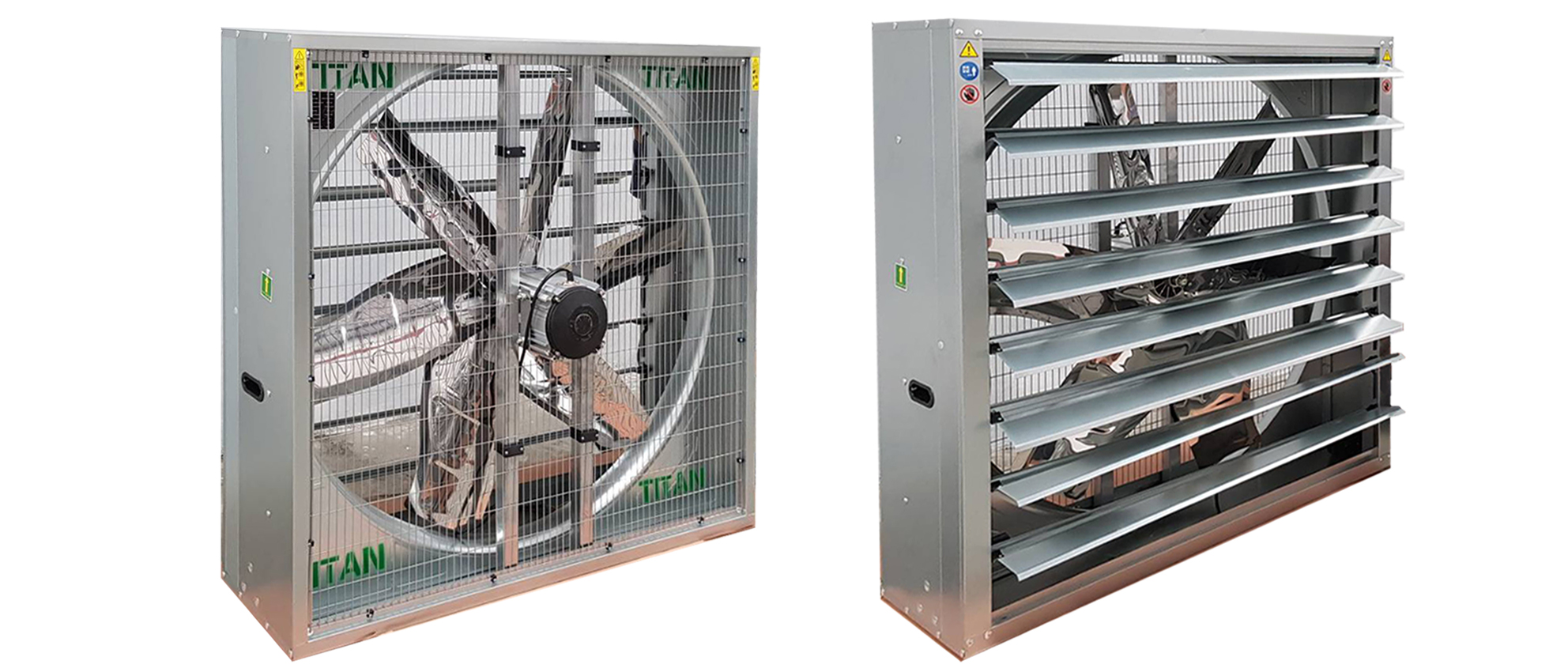 Direct-Drive Exhaust Fans [Hammer-type)