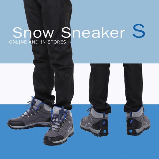 รองเท้าผ้าใบลุยหิมะรุ่น ❝ S ❞