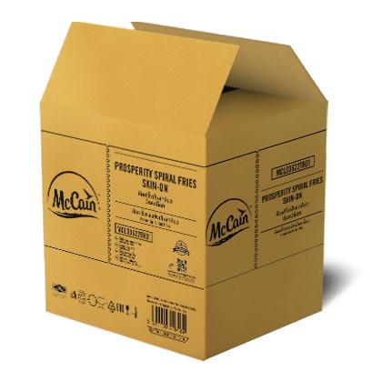 กล่องลูกฟูก 5 ชั้นลอน BC ขนาด : 24 x 30 x 31 cm.