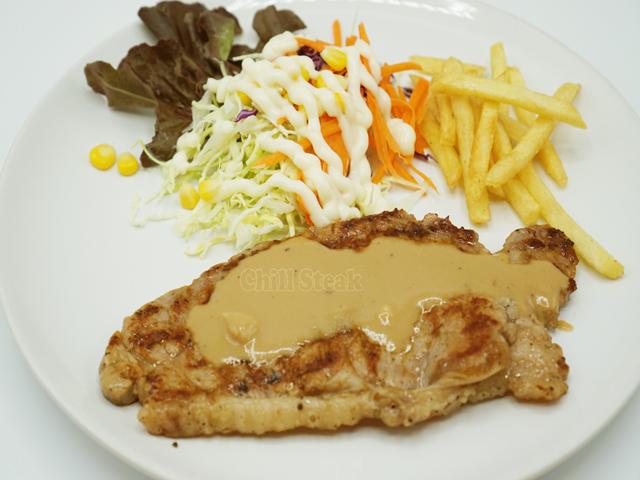 สเต็กเนื้อโคขุน