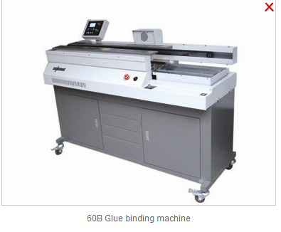 60B Glue binding machine