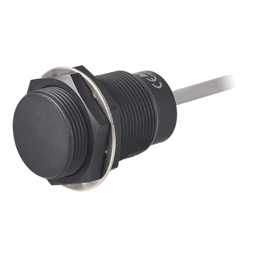 PRFDA Series Autonic Full-Metal Spatter-Resistant Long Distance Cylindrical Inductive Proximity Sensors (Cable Type)