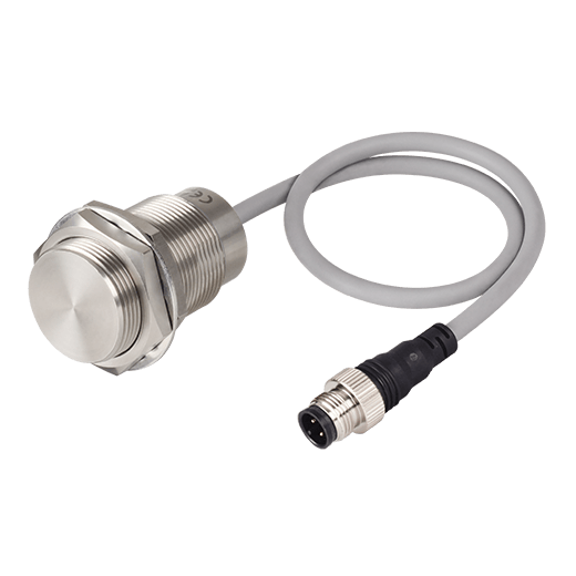 The PRFW series Full-Metal Long Distance Cylindrical Inductive Proximity Sensors (Cable Connector Type)