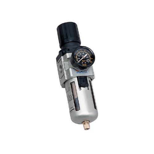 "AW4000 Series ชุดกรองลม (filter+regulator)เกลียว3/8""และ1/2"""