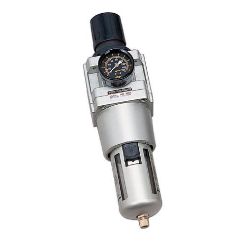 "AW5000 Series ชุดกรองลม (filter+regulator)เกลียว3/4""และ1"""