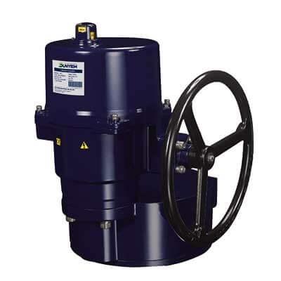 OM-13 Output 4,500 Nm motorized valve
