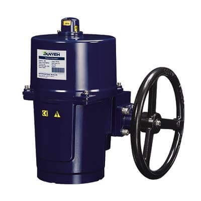 OM-7 Output 1,000 Nm motorized valve