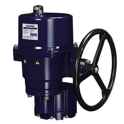 OM-12 Output 3,500 Nm motorized valve