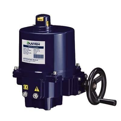 OM-G Output 120 Nm motorized valve