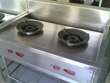 เตาครัวไทย 2 หัว