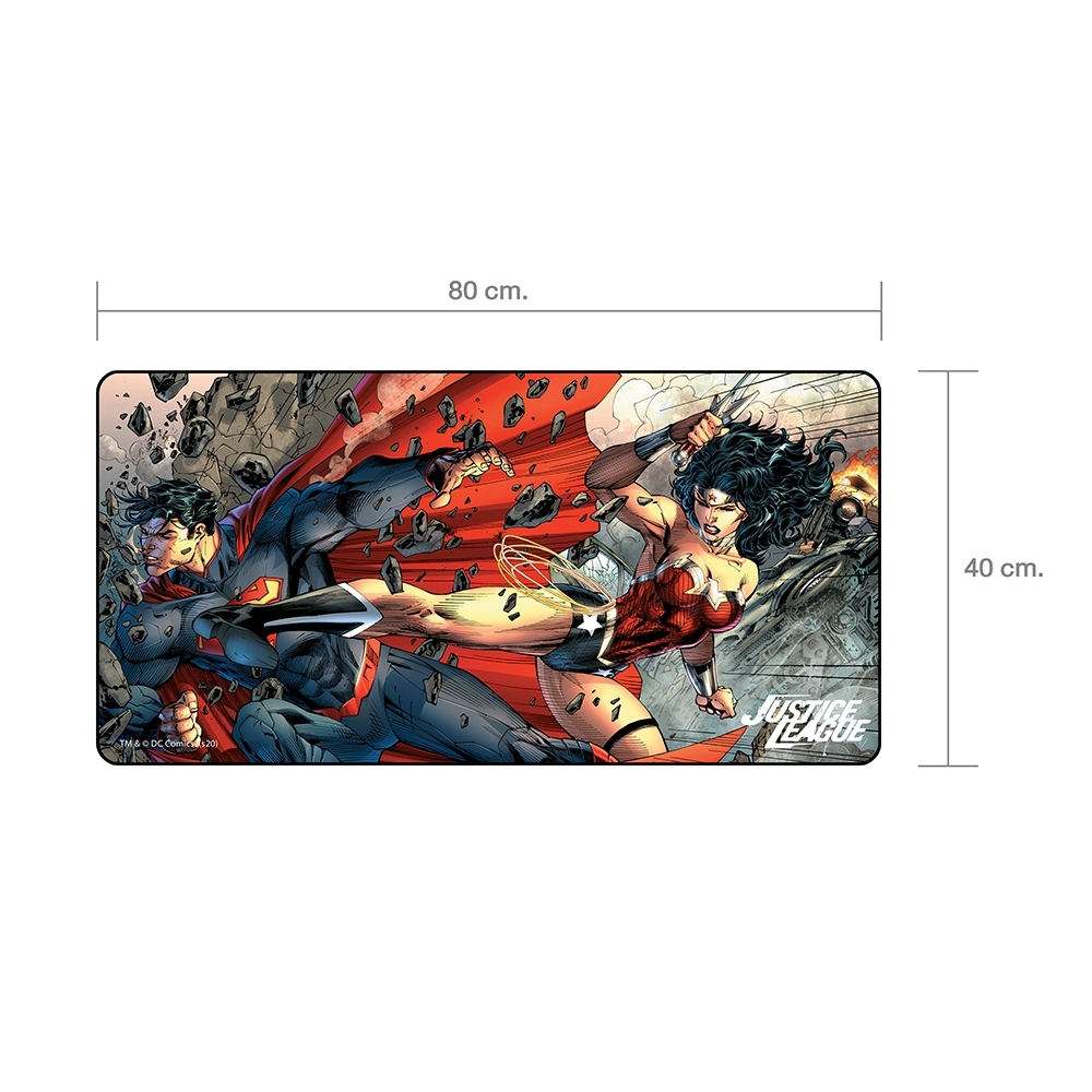 Mouse Pad Gaming- Justice League Collection From DC Commics Legally Licensed (Design 2)