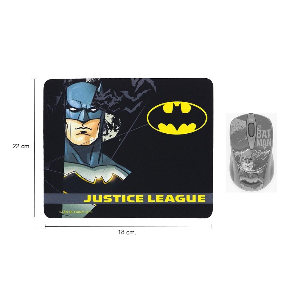 แผ่นรองเมาส์ (Mousepad) BATMAN ลายลิขสิทธิ์แท้ Justice League