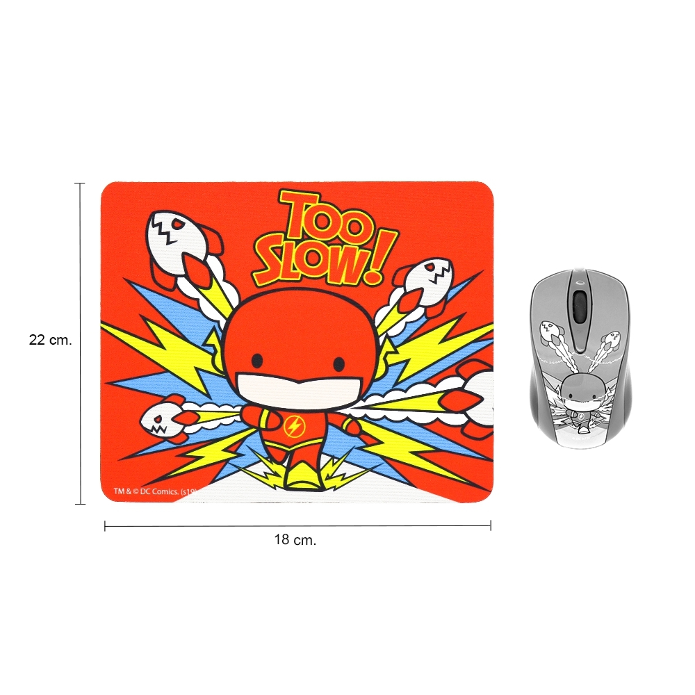 Premium Mouse Pad (legally licensed) Cartoon THE FLASH