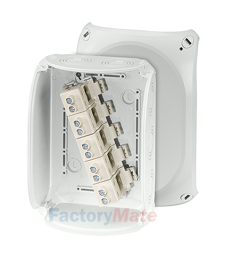 """KF1616G : DK Cable junction boxes  """"Weatherproof"""" for outdoor installation Cable junction box"""