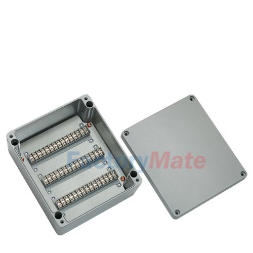 Aluminum enclosure Terminal block box-45P3