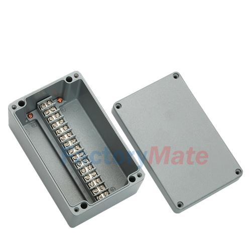 Aluminum enclosure Terminal block box-15P