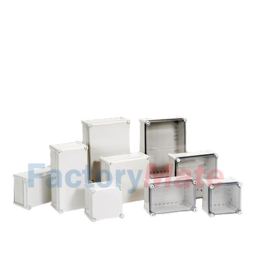 Plastic Enclosure Boxes Screw Type S series Medium size