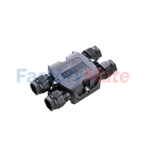 """THB.209.A3A  TH209 - Junction box 4 ways type """"H"""" IP68"""