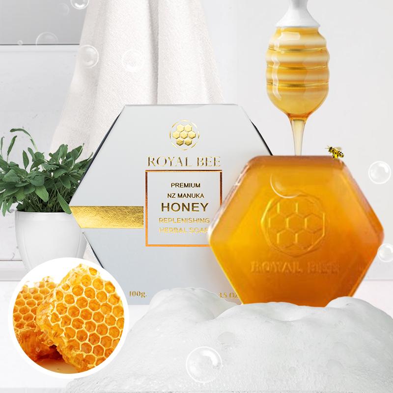สบู่สูตรน้ำผึ้ง