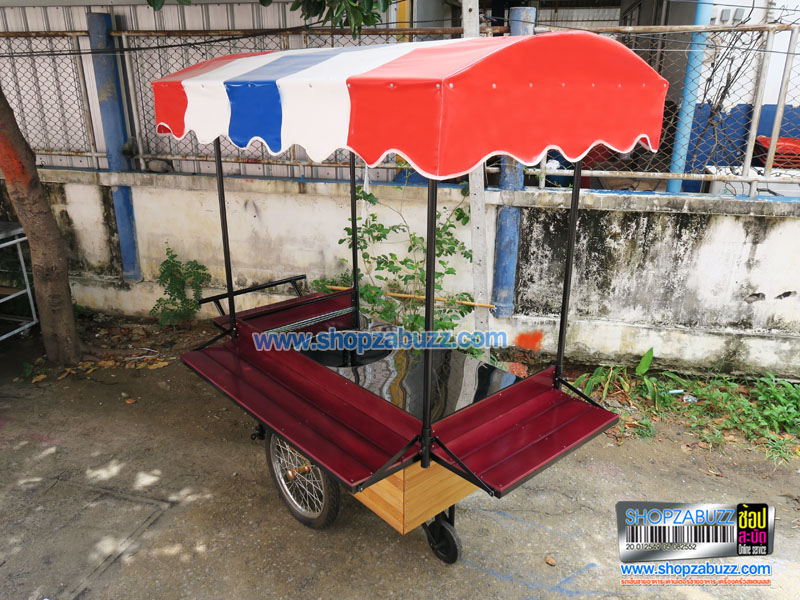 Food cart with roof CTR - 215