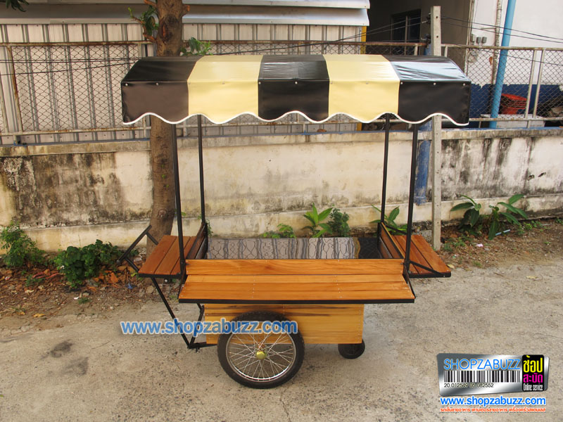 Thai Food cart with roof : CTR - 155