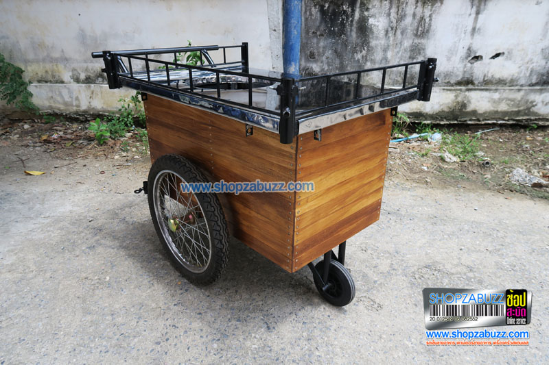 Food cart no roof of Thailand