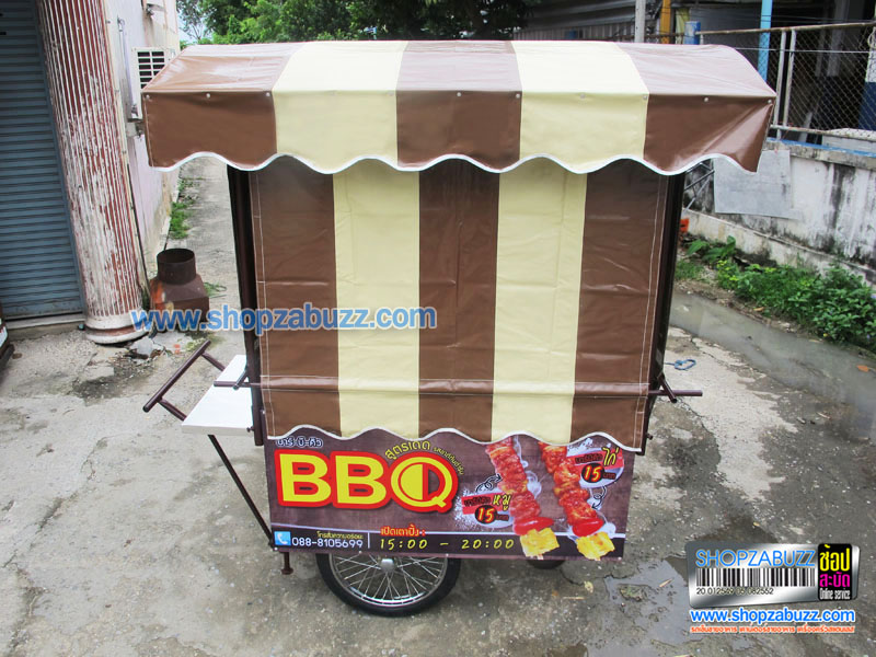 Thai Food cart with roof : CTR - 180