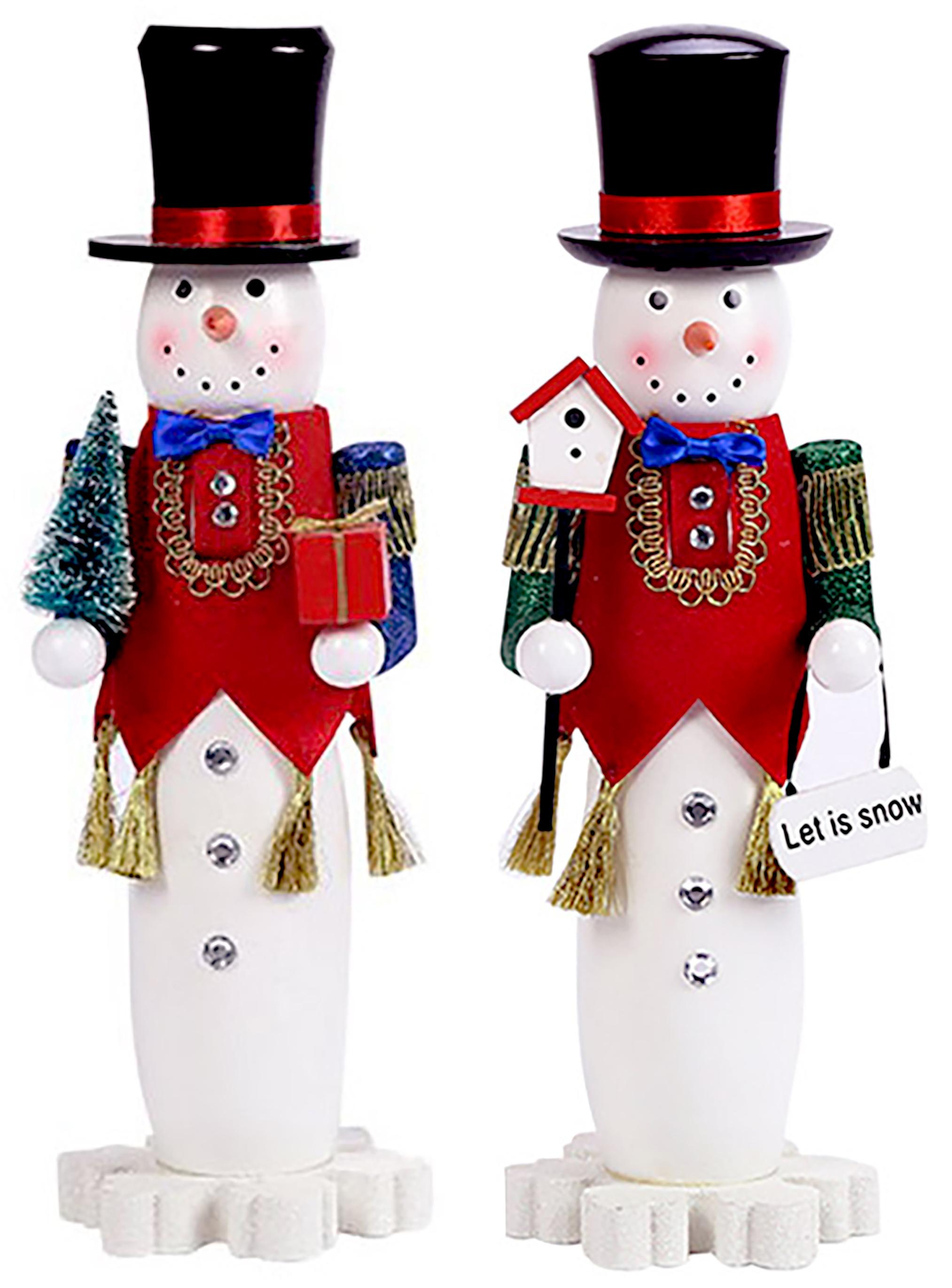 "15"" Snowman Nutcrackers"