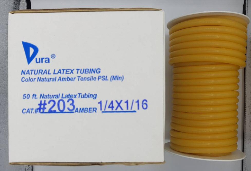 สายยางลาเท็กซ์ (Latex Tube) - Dura เบอร์ 203
