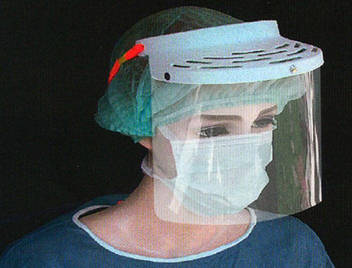 แผ่นอะไหล่หน้ากากกันเลือด Clarity Face Guard