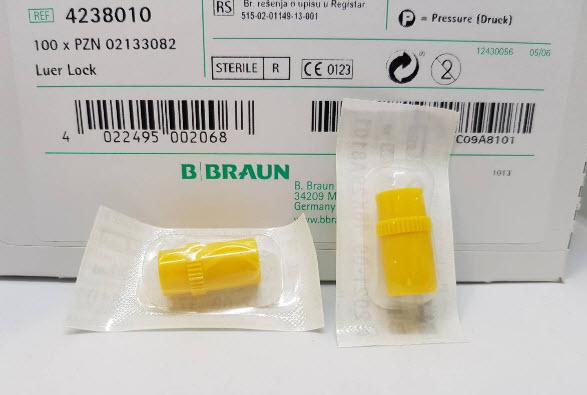 ข้อต่อฉีดยาให้น้ำเกลือ Instoppers (รุ่นใหม่) [B-Braun] (ขายแยก)