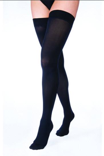 ถุงน่องเส้นเลือดขอด Jobst ระดับต้นขา แรงดัน 20-30 มม.ปรอท สีดำ