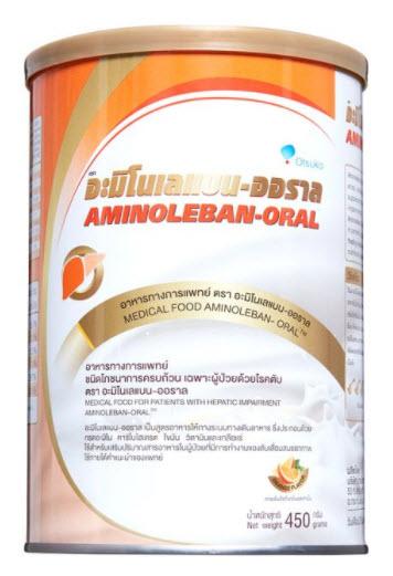 Aminoleban-Oral 450 g. สำหรับผู้ป่วยโรคตับ
