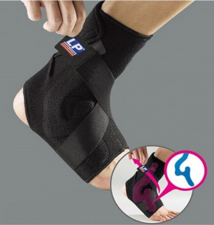 Ankle Support With Plastic Stay (LP) (รหัส 528)