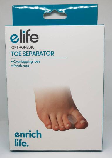 Toe separator - elife ซิลิโคนแยกนิ้วเท้า