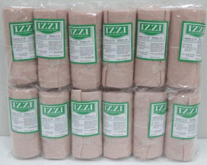 ผ้าพันเคล็ด Elastic Bandage - IZZI  6นิ้ว x 5หลา (ราคาต่อ 1 ม้วน)