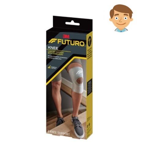 อุปกรณ์พยุงหัวเข่า ฟูทูโร่ เสริมแกนข้าง Futuro™ Stabilizing Knee Support