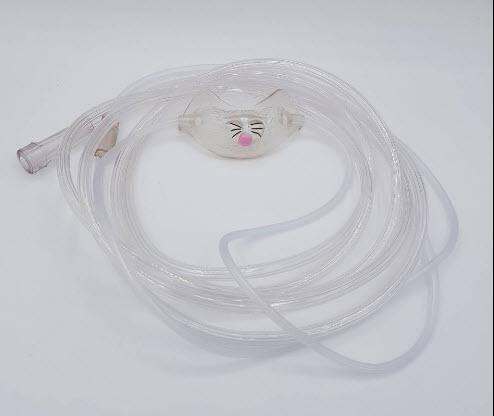 สายออกซิเจนแคนนูล่าเด็กรูปกระต่าย Nasal Cannula Paediatric - Bunny - Westmed (W0106)