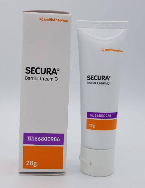 Secura Barrier Cream D 28g ครีมปกป้องผิวหนัง exp 12/2020