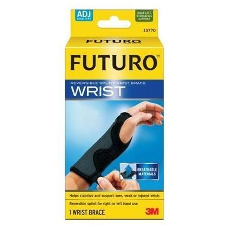 อุปกรณ์พยุงข้อมือเสริมแถบเหล็ก ฟูทูโร่ รุ่นปรับกระชับได้ Futuro™ Reversible Splint Wrist Brace