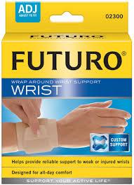อุปกรณ์พยุงข้อมือ ฟูทูโร่ ชนิดปรับกระชับได้ Futuro Wrap Around Wrist Support