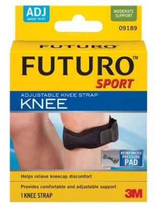 อุปกรณ์พยุงใต้หัวเข่า ฟูทูโร่™ สปอร์ต  รุ่นปรับกระชับได้ Futuro™ Sport Adjustable Knee Strap
