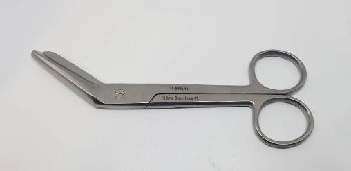 Episiotomy Scissor 14 cm (Hilbro) (10.0690.14) - กรรไกรตัดฝีเย็บ