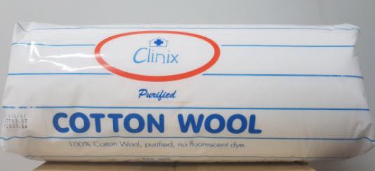 สำลีม้วนสเตอร์ไรด์ Clinix (450g)