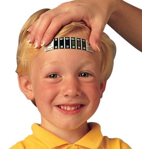 แถบวัดไข้เด็ก Fever Reader