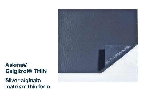 Askina Calgitrol Thin 5x5 cm (เกรดเดียวกับ acticoat)