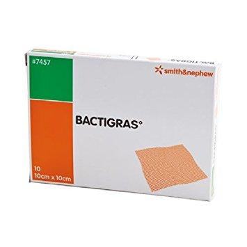 Bactigras 10x10 cm.