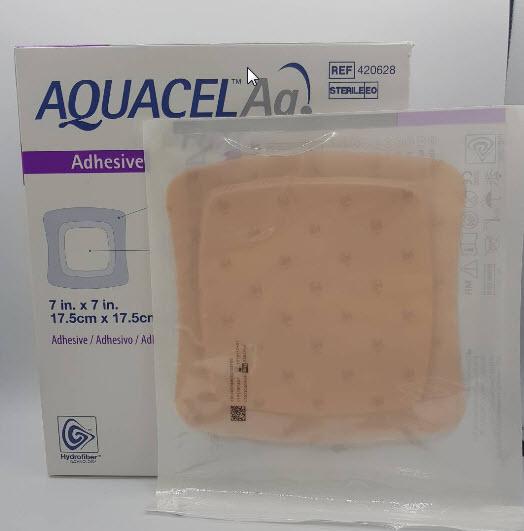 Aquacel Foam Ag+ Adhesive 17.5x17.5 cm (420628)
